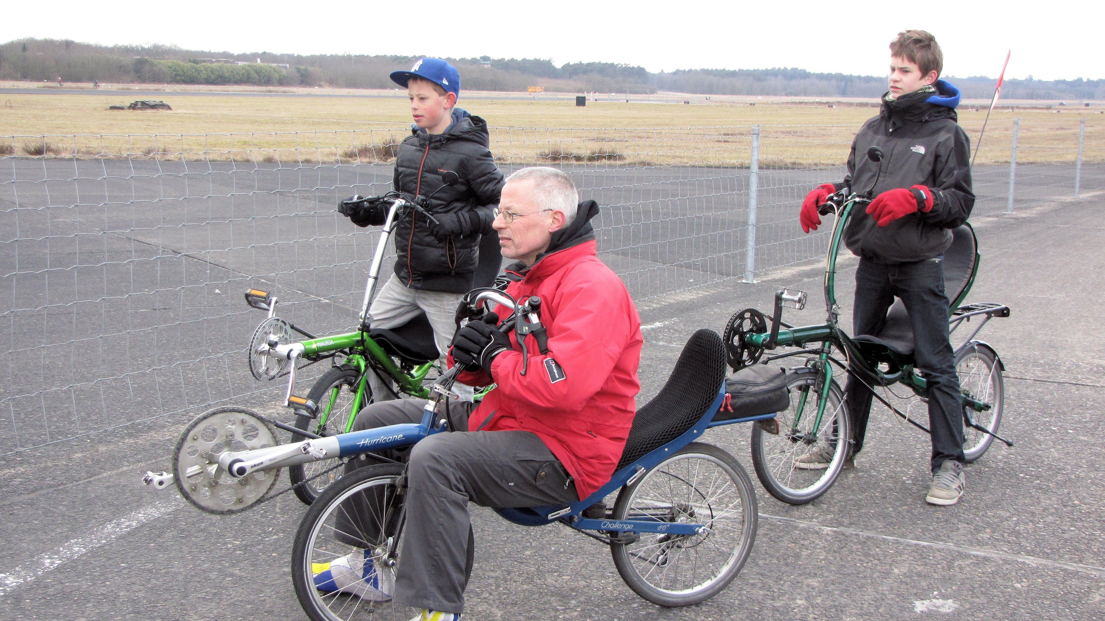 ligfietsstop vliegveld soesterberg 30 maart 2013